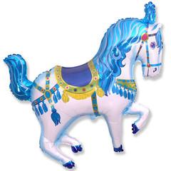 F Мини фигура Цирковая лошадь (синяя) / Horse Circuc (14