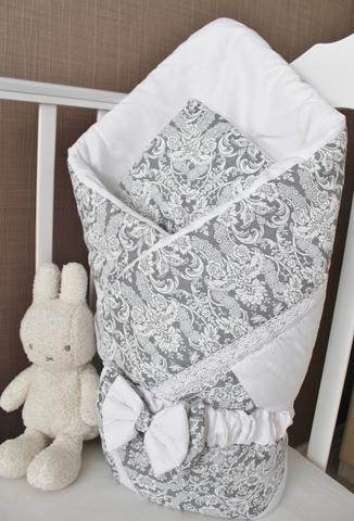 Демисезонное одеяло - конверт на выписку, пэчворк