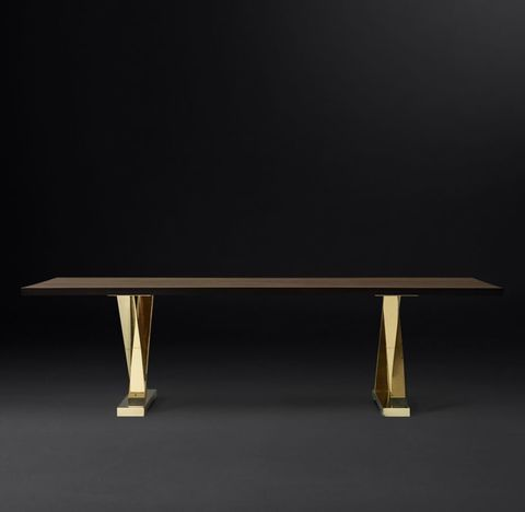 Exley Live-Edge Rectangular Dining Table