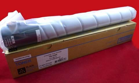 Совместимый тонер-картридж TK-324K для Konica-Minolta bizhub C258/C308/C368