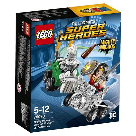 LEGO Super Heroes: Чудо-женщина против Думсдэя 76070 — Wonder Woman vs. Doomsday — Лего Супергерои ДиСи