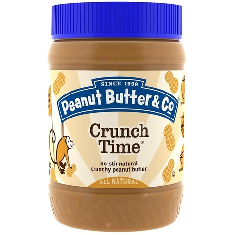 Peanut Butter & Co. Crunch Time Хрустящее арахисовое масло 454 г