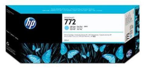 Картридж HP CN632A (№772) светло-голубой 300 мл.