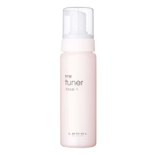 Lebel Trie Tuner Foam 1 - Воздушная пена-мусс для укладки волос