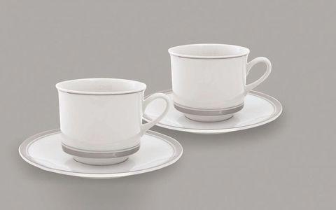 Набор из двух чайных пар  0,20 л Leander