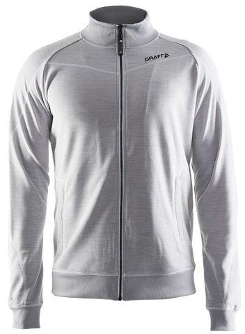Куртка флисовая мужская Craft In the Zone серая