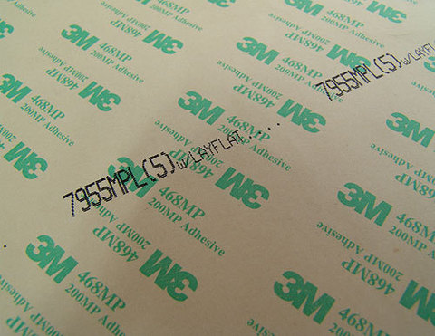 Листовой двусторонний скотч 3М 7955MPL, прозрачный, толщина - 0,13 мм (0,9м * 0,6м)