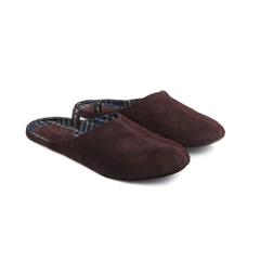 777137 туфли домашние мужские коричневые больших размеров марки Делфино
