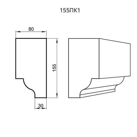 Профиль из пенопласта фасадный