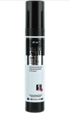 Витэкс Studio STYLE Лак для волос ультра сильной фиксации 215 мл