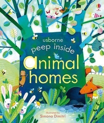 Kitab Peep Inside Animal Homes | Anna Milbourne