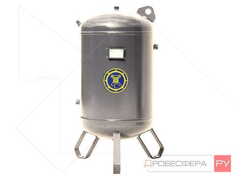 Ресивер для компрессора РВ 110-02/10 из нержавейки вертикальный