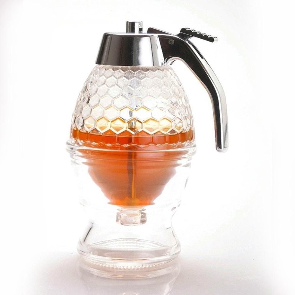 Новинки Дозатор для меда Honey Dispenser акриловый Дозатор-5.jpg