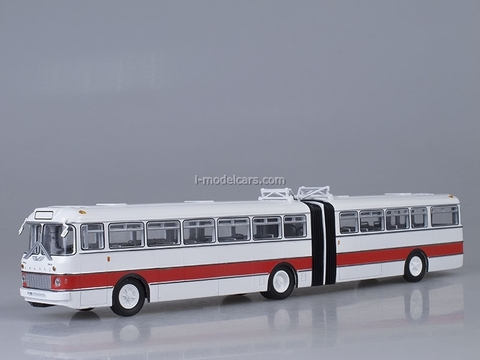 Ikarus-180 white-red Soviet Bus 1:43