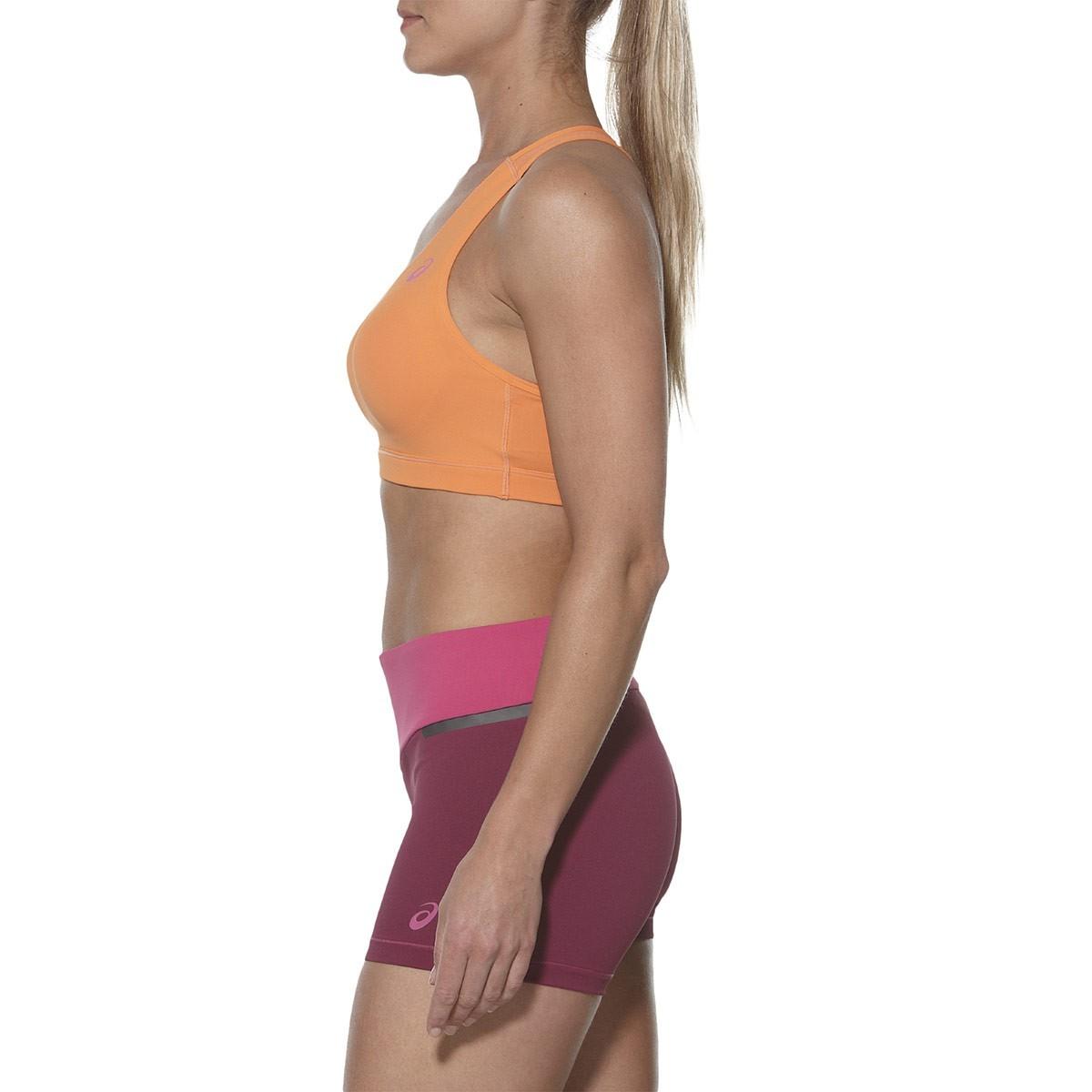 Женский топ для фитнеса Asics Racerback Bra Top (130465 0558) оранжевый фото