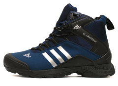 Кроссовки Мужские ADIDAS TERREX ClimaProof MID Black Blue White