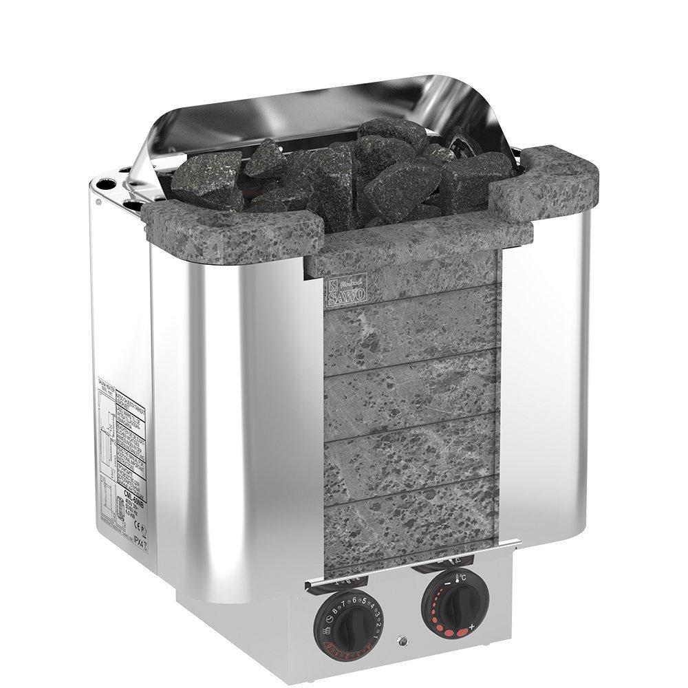 Фото - Серия Cumulus: Электрическая печь SAWO CUMULUS CML-45NB-P (4,5 кВт, встроенный пульт, облицовка – талькохлорит) изделия из камня чаша для арома масел из талькохлорита sawo r 501