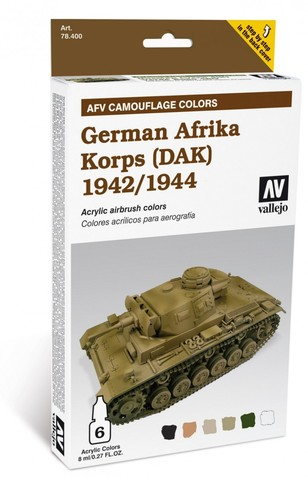 Model Air AFV German Afrika Korps 1942/44 (DAK) уценка
