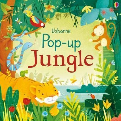 Kitab Pop-up Jungle | Fiona Watt