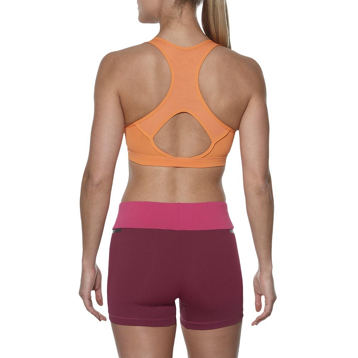 Женский спортивный топ фитнеса Asics Racerback Bra Top (130465 0558) оранжевый фот