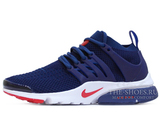 Кроссовки Мужские Nike Air Presto Ultra Flyknit Red Navy White Red