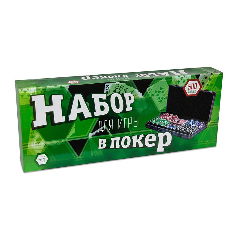 Набор для покера Russian Poker на 500 фишек