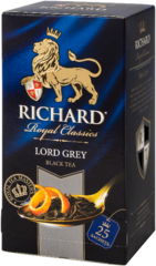 "Чай черный ""Richard"" Lord Grey 2г*25"