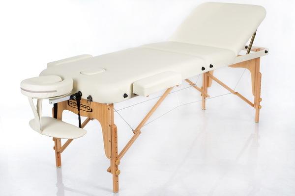 Массажный стол RESTPRO VIP 3 Cream (EU) фото