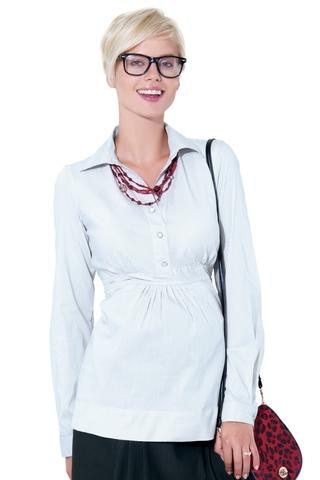 Блузка 01355 белый