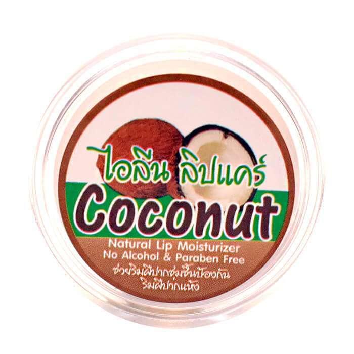 Ilene Увлажняющий блеск для губ с Кокосом Natural Coconut Lip Moisturizer, 10 г
