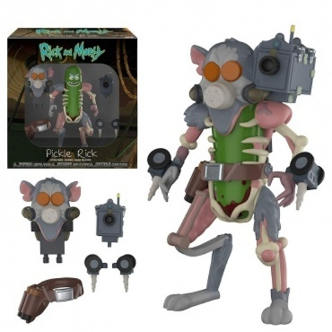 Фигурка Funko Action Figures: Rick & Morty: Pickle Rick