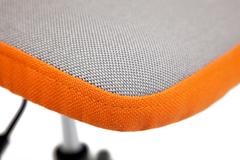 Кресло Бесто (BESTO) — оранжевый/серый (с 23 / с 27)
