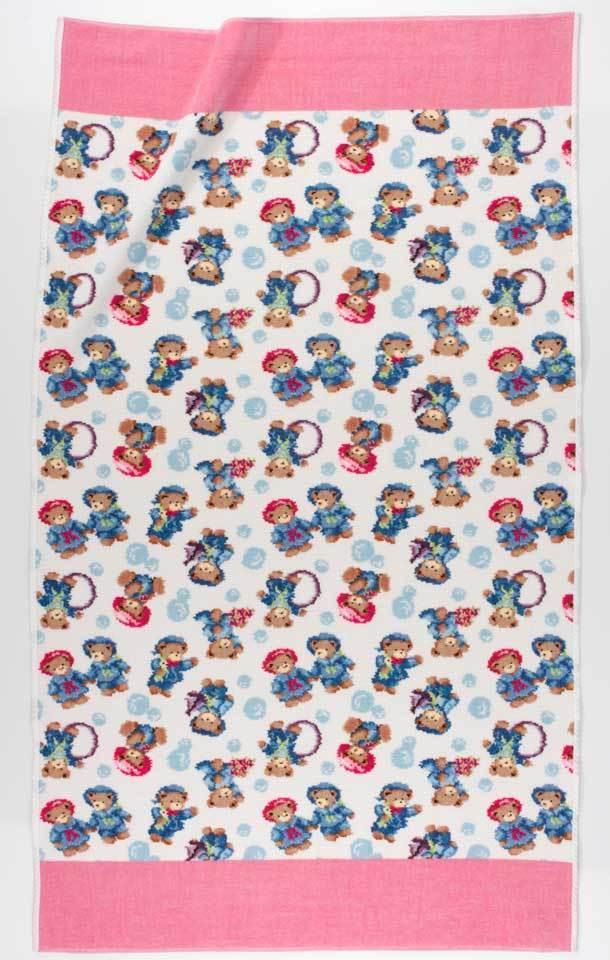 Полотенце детское 75x125 Feiler Little Skippers 123 erika