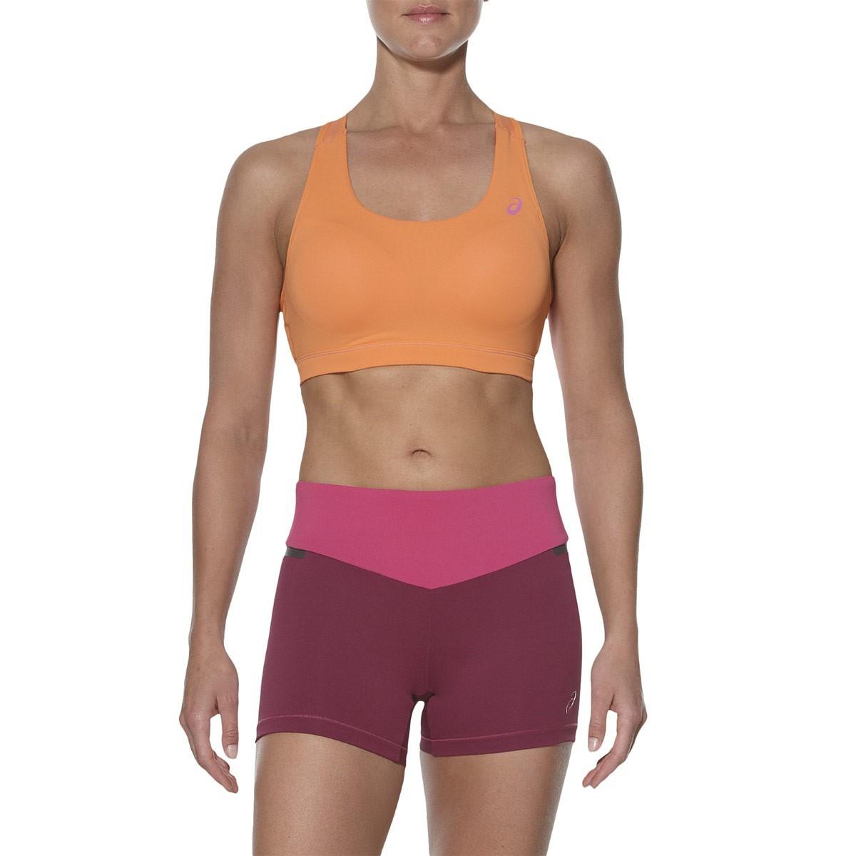 Женский спортивный топ для бега Asics Racerback Bra Top (130465 0558) оранжевый фото