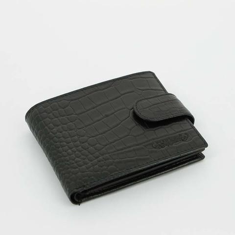 Портмоне S.Quire 6300-BK CROCO черный
