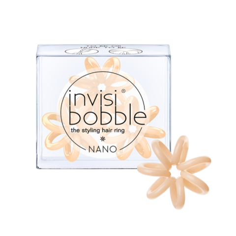 Резинка для волос invisibobble NANO To Be or Nude to Be