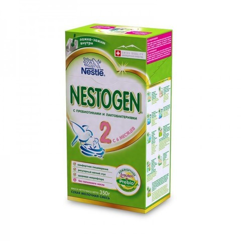 NESTOGEN® 2 Сухая молочная смесь 350 гр с 6 месяцев