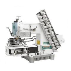 Фото: Двенадцатиигольная поясная швейная машина Siruba VC008-12064P/VSC
