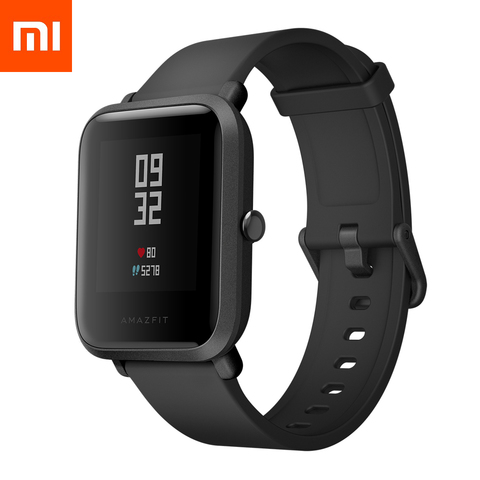 Смарт-часы Xiaomi Amazfit Bip Lite Youth Smart Watch (Global version/черные)