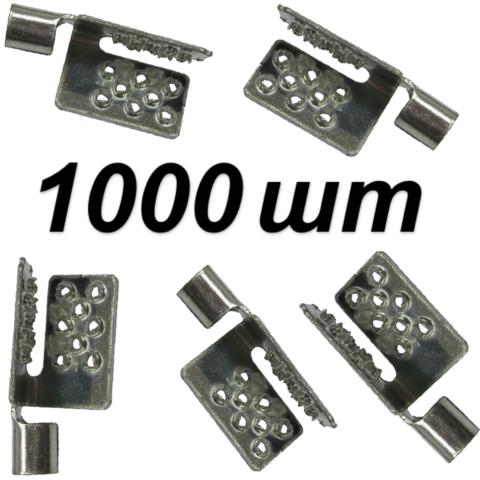 Клипса Electric Clip 1000 шт/уп (Краб). Ю.Корея. Electric Clip