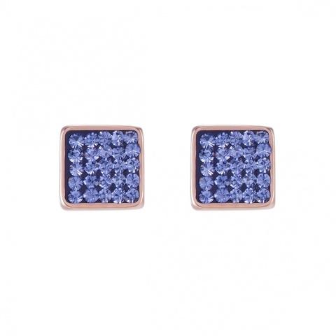 Серьги Coeur de Lion 0217/21-0800 цвет синий