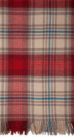 Плед 130х170 Luxberry Lux 32 красный
