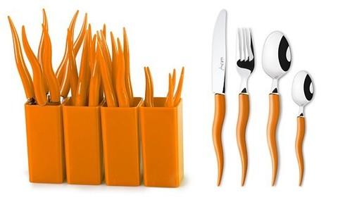 Столовые приборы MoulinVilla, «Морковки» 24 предмета