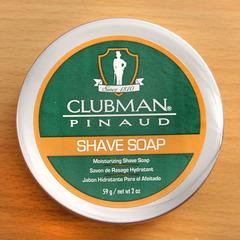 Мыло для бритья Clubman Shave Soap