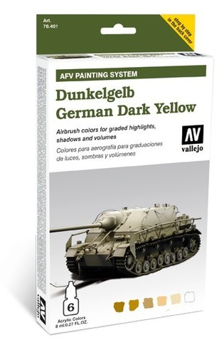 Model Air AFV German Yellow Armour Painting System уценка