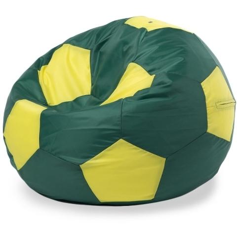 Внешний чехол «Мяч», XL, оксфорд, Зеленый и желтый