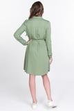Платье для беременных 11559 зеленый