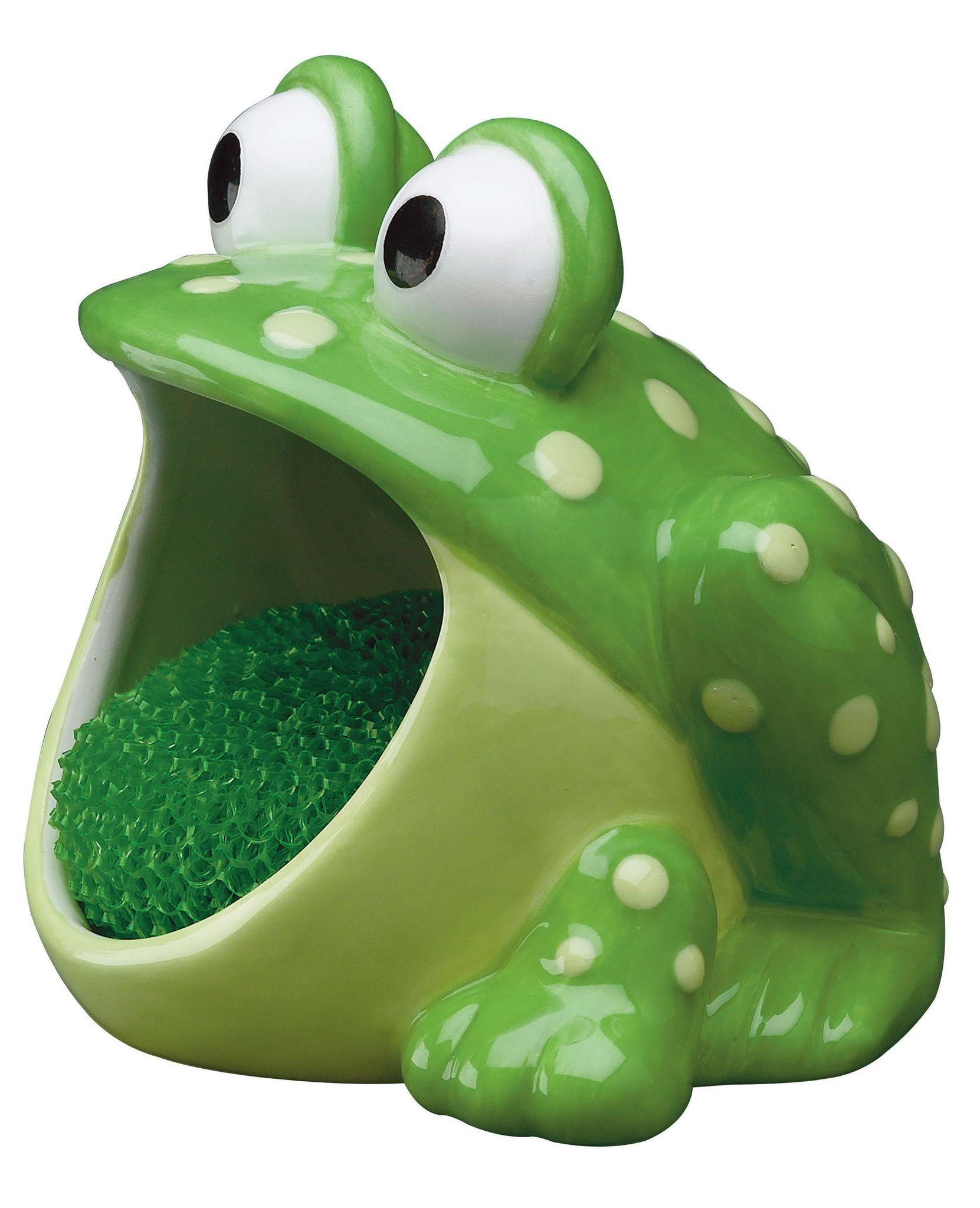 Кухня Держатель для губок/мочалок Boston Warehouse Frog derzhatel-dlya-gubokmochalok-boston-warehouse-frog-ssha-kitay.jpg