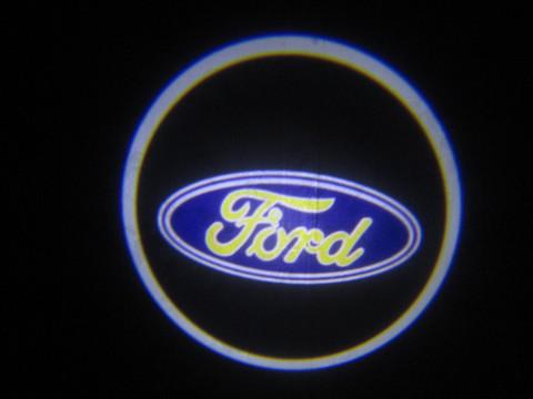 Лазерная проекция с логотипом Ford - Форд