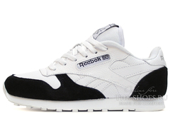 Кроссовки Женские Reebok Classic Leather White Black